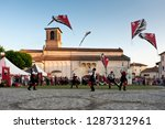 spilimbergo. pordenone district.... | Shutterstock . vector #1287312961