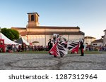 spilimbergo. pordenone district.... | Shutterstock . vector #1287312964