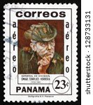 panama   circa 1982  a stamp... | Shutterstock . vector #128733131