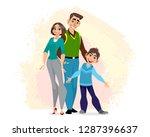 vector illustration of a...   Shutterstock .eps vector #1287396637