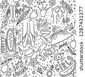 doodle style illustration.... | Shutterstock .eps vector #1287431377