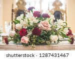 red  yellow and pink bridal... | Shutterstock . vector #1287431467