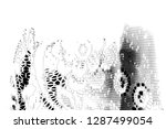 abstract background. monochrome ... | Shutterstock . vector #1287499054