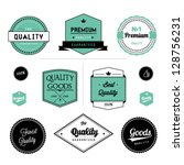 set of premium quality | Shutterstock .eps vector #128756231