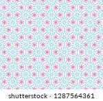 abstract seamless kaleidoscope...   Shutterstock . vector #1287564361