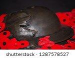 Remembrance Day Closeup Photo...