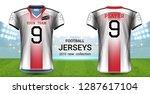 american football or soccer...   Shutterstock .eps vector #1287617104