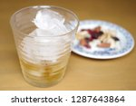 evening drink at home. | Shutterstock . vector #1287643864