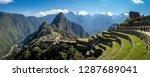 Panoramic View Of Machu Picchu...