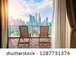 view of kuala lumpur city... | Shutterstock . vector #1287731374