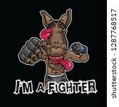 fighter clipart design   Shutterstock .eps vector #1287768517