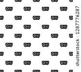 tuned radio pattern seamless... | Shutterstock .eps vector #1287776287