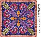 vivid ceramic lace | Shutterstock .eps vector #128778371