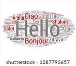 vector concept or conceptual... | Shutterstock .eps vector #1287793657