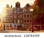 Sunset In Amsterdam ...