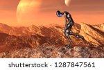 3d illustration of an... | Shutterstock . vector #1287847561