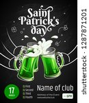 template of banner   saint... | Shutterstock .eps vector #1287871201
