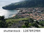 view above from madeira island... | Shutterstock . vector #1287892984