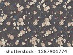 3d wallpaper design with... | Shutterstock . vector #1287901774