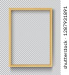 photo realistic square wood... | Shutterstock .eps vector #1287931891