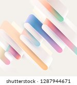 abstract  background.  colorful ... | Shutterstock .eps vector #1287944671