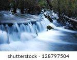 Waterfall In China.