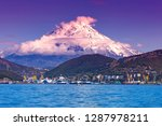panoramic view of the city... | Shutterstock . vector #1287978211