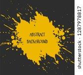 abstract watercolour brush... | Shutterstock .eps vector #1287978817