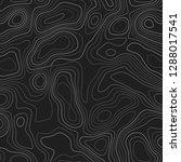 terrain topography. actual... | Shutterstock .eps vector #1288017541