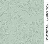 topographic map background.... | Shutterstock .eps vector #1288017547