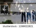 clothes drying  socks and... | Shutterstock . vector #1288022821