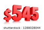 545  five hundred forty five... | Shutterstock . vector #1288028044