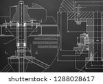 mechanical engineering.... | Shutterstock .eps vector #1288028617