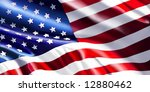 american flag | Shutterstock . vector #12880462