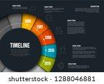 vector infographic timeline...   Shutterstock .eps vector #1288046881