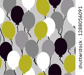 the pattern of the balloons .... | Shutterstock .eps vector #1288056091
