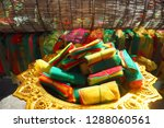 colorful mesh material usually...   Shutterstock . vector #1288060561