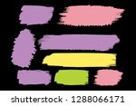 collection of hand drawn... | Shutterstock .eps vector #1288066171