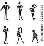 the symbolic representation... | Shutterstock . vector #128807119