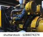 large electric generator... | Shutterstock . vector #1288074274