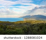 beautiful view of the aegean... | Shutterstock . vector #1288081024