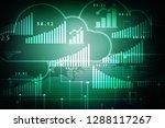 2d rendering stock market... | Shutterstock . vector #1288117267