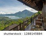 lake batur and mount batur...   Shutterstock . vector #1288145884