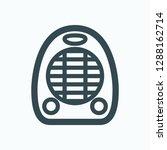 fan heater icon  electric fan... | Shutterstock .eps vector #1288162714
