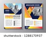 business abstract vector... | Shutterstock .eps vector #1288170937
