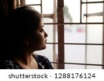 portrait of an young and... | Shutterstock . vector #1288176124
