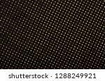 black textile with golden...   Shutterstock . vector #1288249921