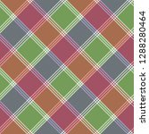 mosaic pixel check plaid... | Shutterstock .eps vector #1288280464