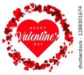 valentine day card   Shutterstock .eps vector #1288301674