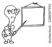 school teacher pupil board...   Shutterstock .eps vector #1288307551